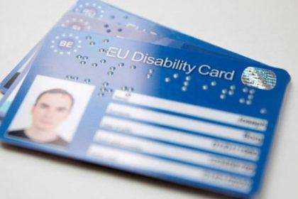 Presto la Disability Card?