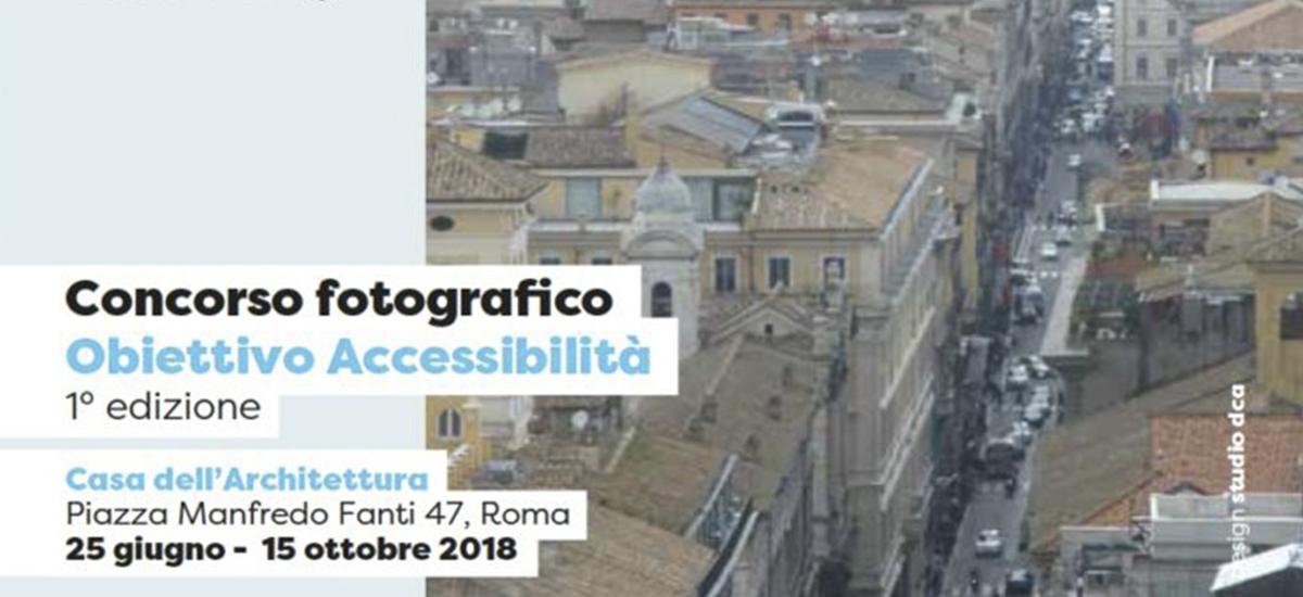 Un concorso fotografico per l'accessibilità