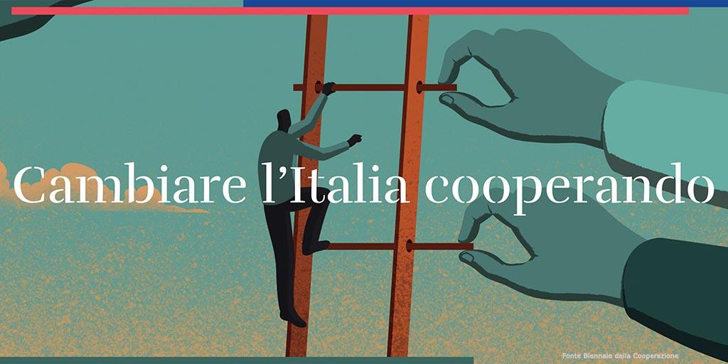 Il premier Conte parla alle cooperative italiane
