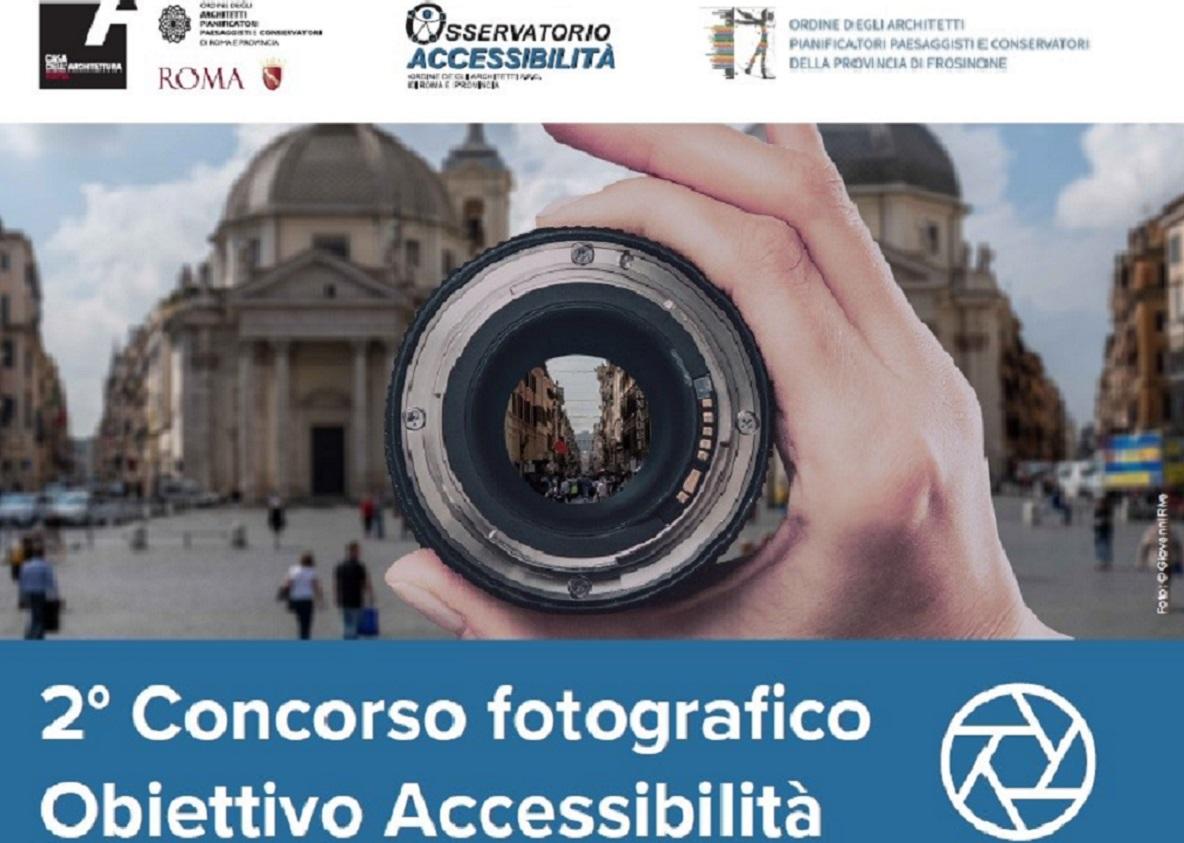 Il nuovo concorso fotografico OBIETTIVO ACCESSIBILITA'