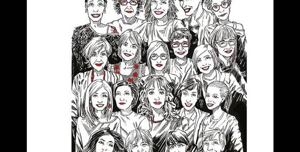 Un libro dedicato a donne e  quarantena