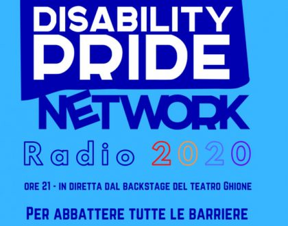 Disability Pride, piazza virtuale di una società reale